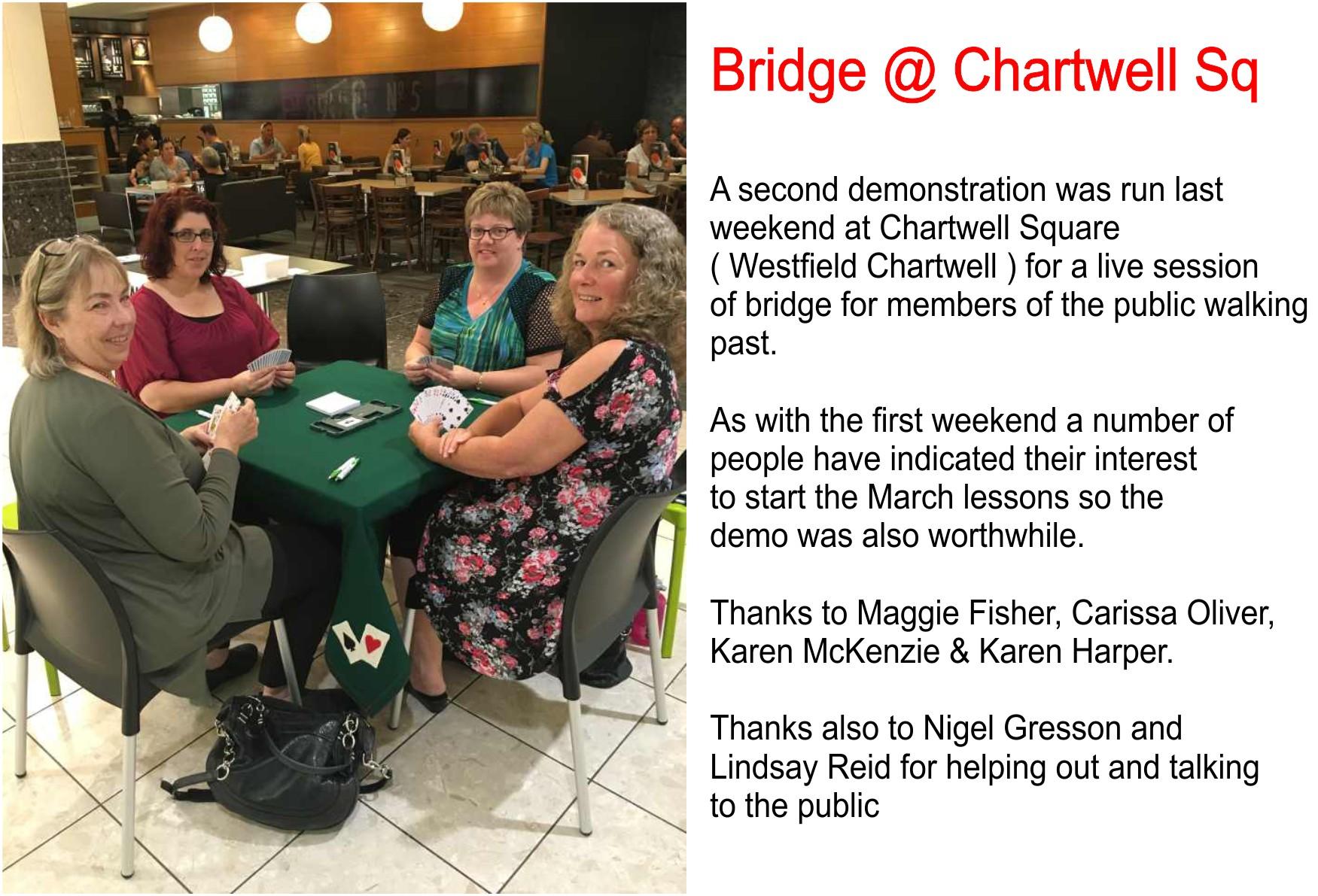 Hamilton Bridge @ Chartwell Square