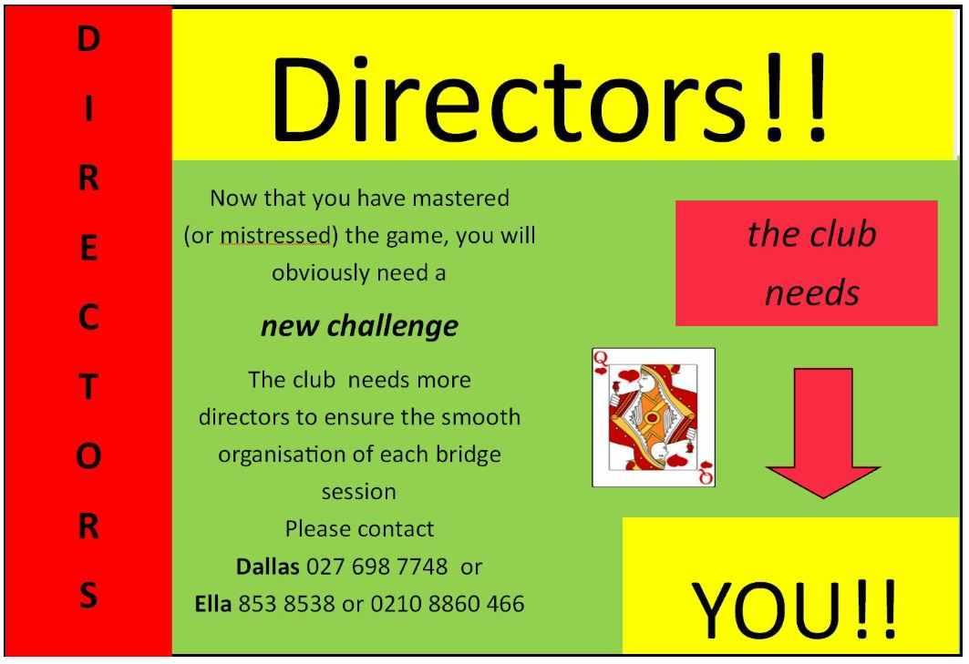 Directors please