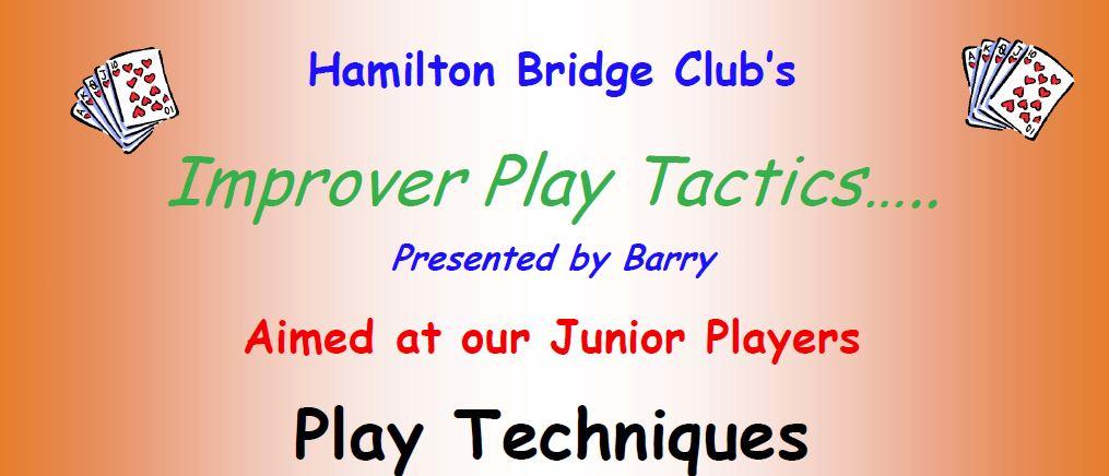 Improving Junior's play technique